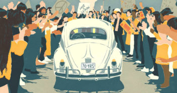VW Beetle - The last mile