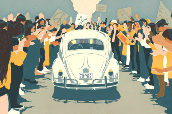 VW Beetle - The last mile