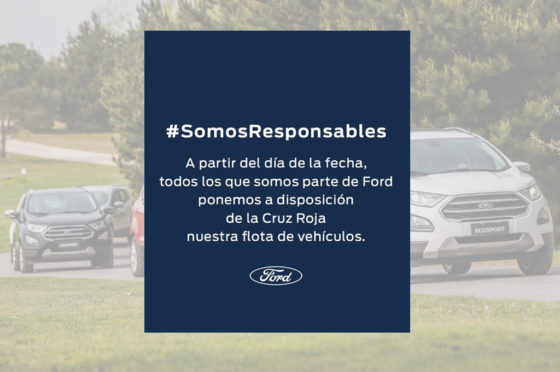 Ford Cruz Roja - COVID