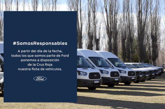 Ford Cruz Roja - COVID-19