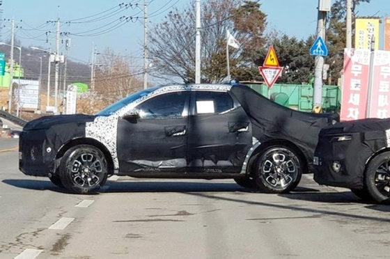 Hyundai SantaCruz mula