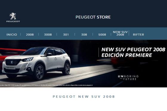Nuevo Peugeot 2008 Chile
