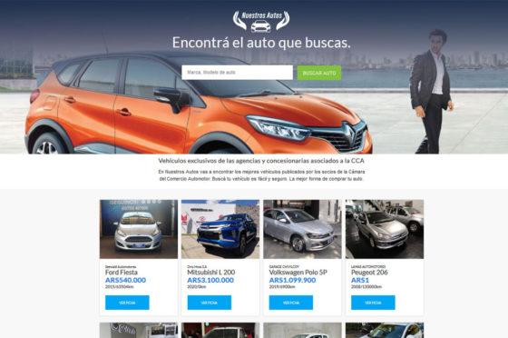 Portal NuestrosAutos.com.ar