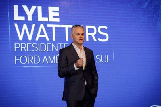 Lyle Watters, presidente de Ford Sudamérica