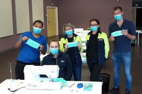 Michelin ya produce máscaras y viseras