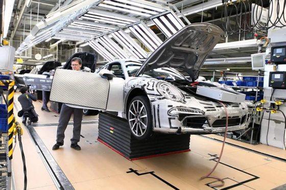 Fábrica de Porsche-Stuttgart