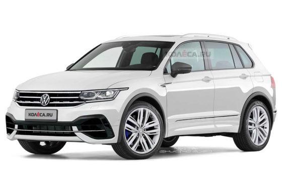 Render del VW Tiguan 2020