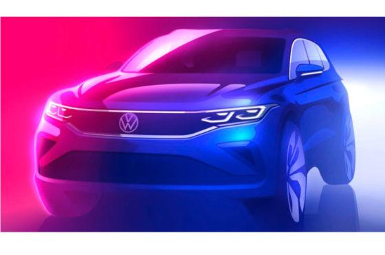 Teaser del VW Tiguan 2020
