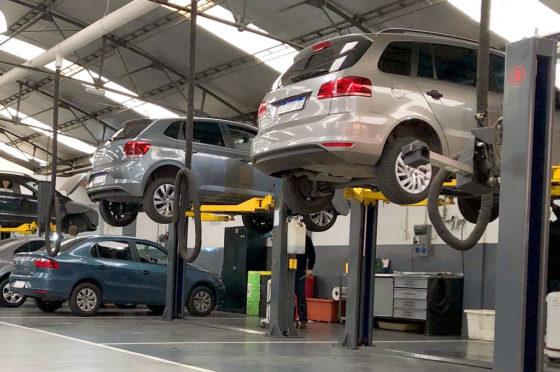 Servicio de mantenimiento VW