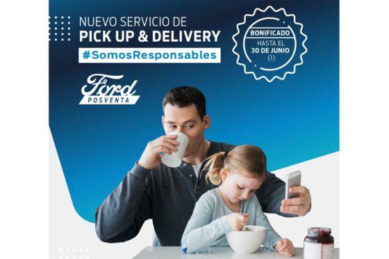 Ford Posventa PickUp y delivery
