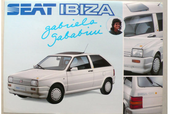 Seat Ibiza - Gabriela Sabatini