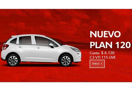 Círculo Citroën - Plan 120 cuotas
