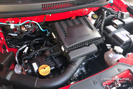 Motor de la Fiat Strada Volcano Cabina Doble