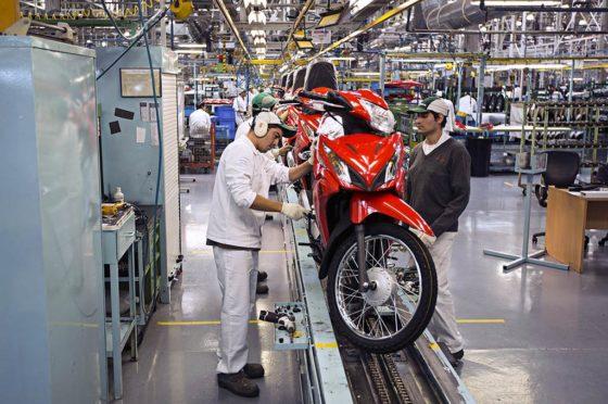 Honda Motos Fábrica