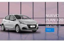 Peugeot Autoplan - Plan 120 cuotas