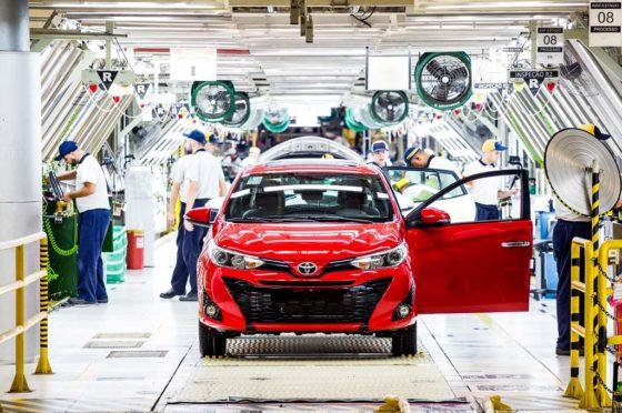 Planta de Toyota en Sorocaba