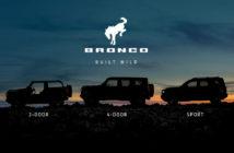 Bronco lineup
