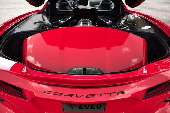 Motor del Chevrolet Corvette 2020