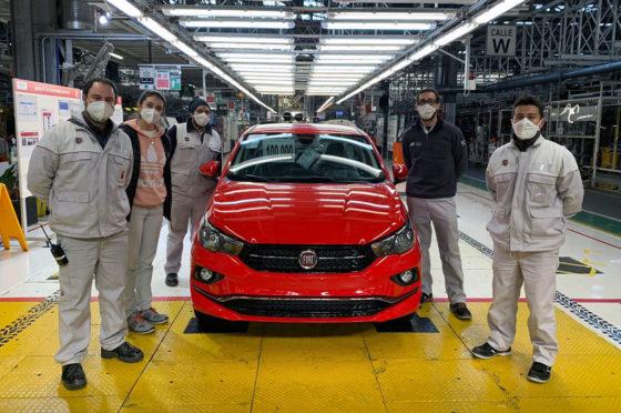 Fiat Cronos 100 mil unidades - Ferreyra