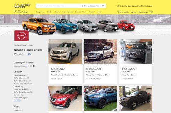 Nissan Mercado Libre