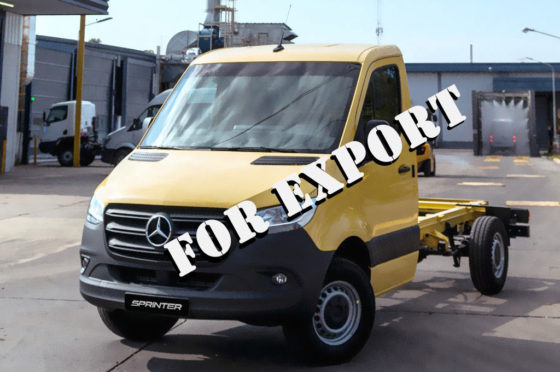 Mercedes-Benz Sprinter chasis