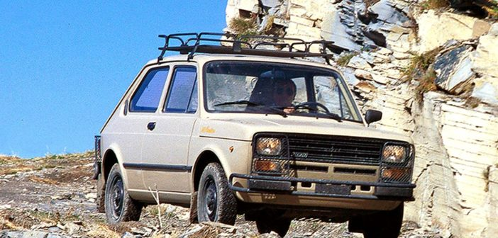 Fiat 127 Rustica, el «abuelo» de los crossovers con look off road
