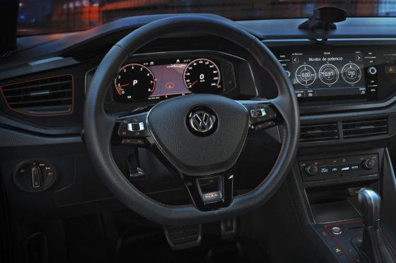 Interior de los VW Polo y Virtus GTS