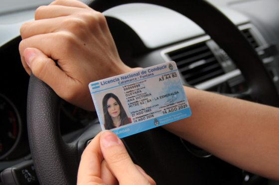 ANSV control de licencias