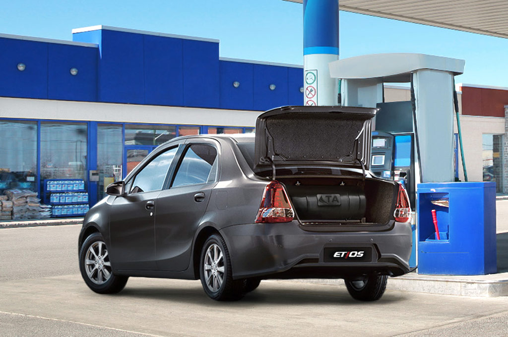 Toyota Etios Sedan GNC