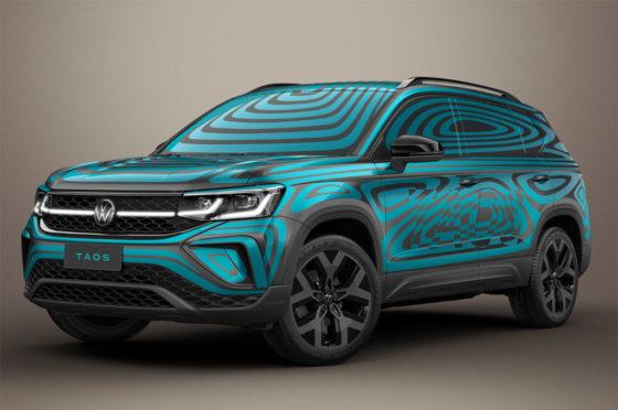 Teaser del VW Taos