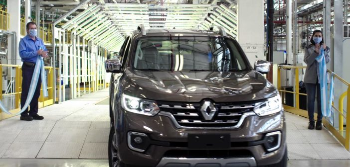 Argentina: Renault oficializó el inicio de producción de la pick-up Alaskan