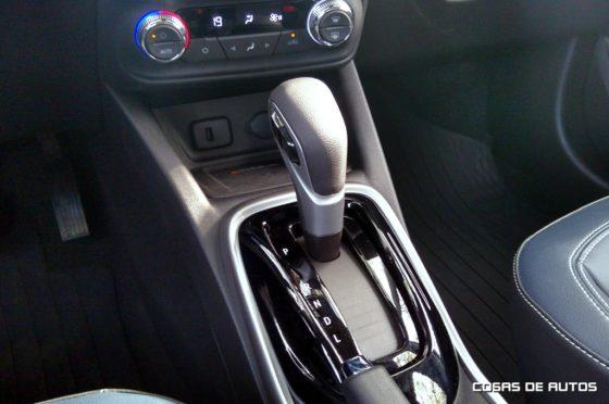 Caja automática de la Chevrolet Tracker