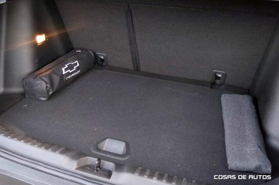 Baúl de la Chevrolet Tracker