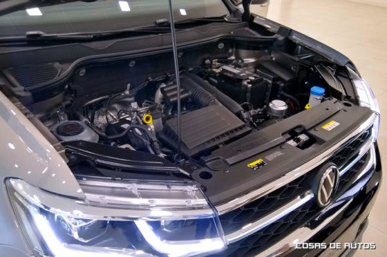 Motor del Volkswagen Taos