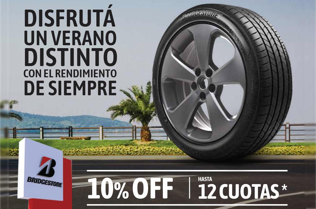Promoción Bridgestone Verano