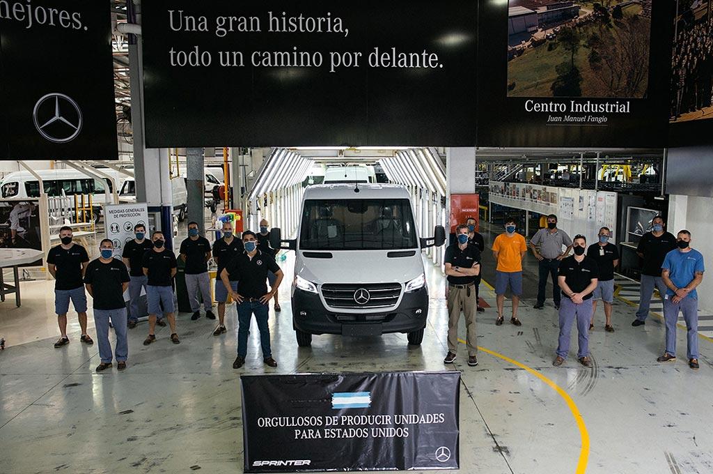 Sprinter exportación a EE.UU.