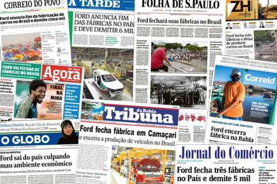 Cierre de Ford en Brasil - Diarios