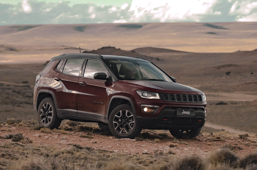 Jeep Compass Trailhawk 2.0 TD AT9 4x4