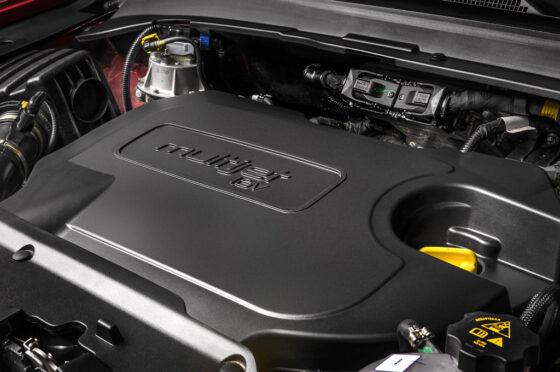 Motor del Jeep Compass Trailhawk 2.0 TD AT9 4x4