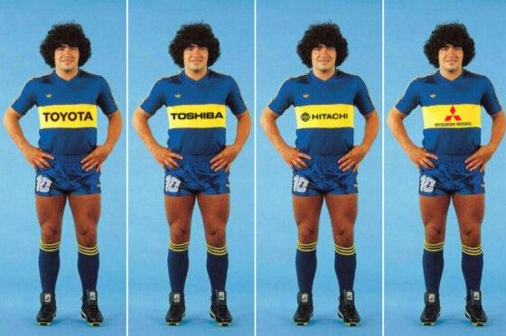 Boca 1981 -con publicidades
