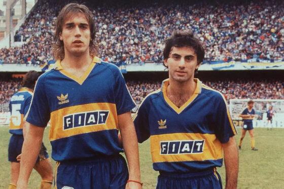 Boca 1991 - Fiat - Batistuta y Latorre