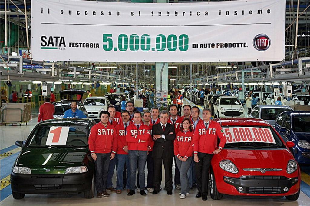 Fiat Punto 5 millones en Melfi