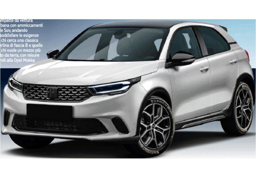 Fiat Punto 2022 - Render: Quattroruote