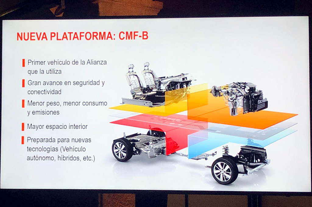 Renault - Plataforma CMF-B