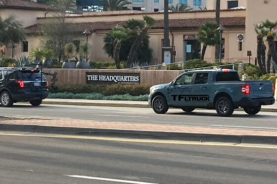 Ford Maverick sin camuflaje