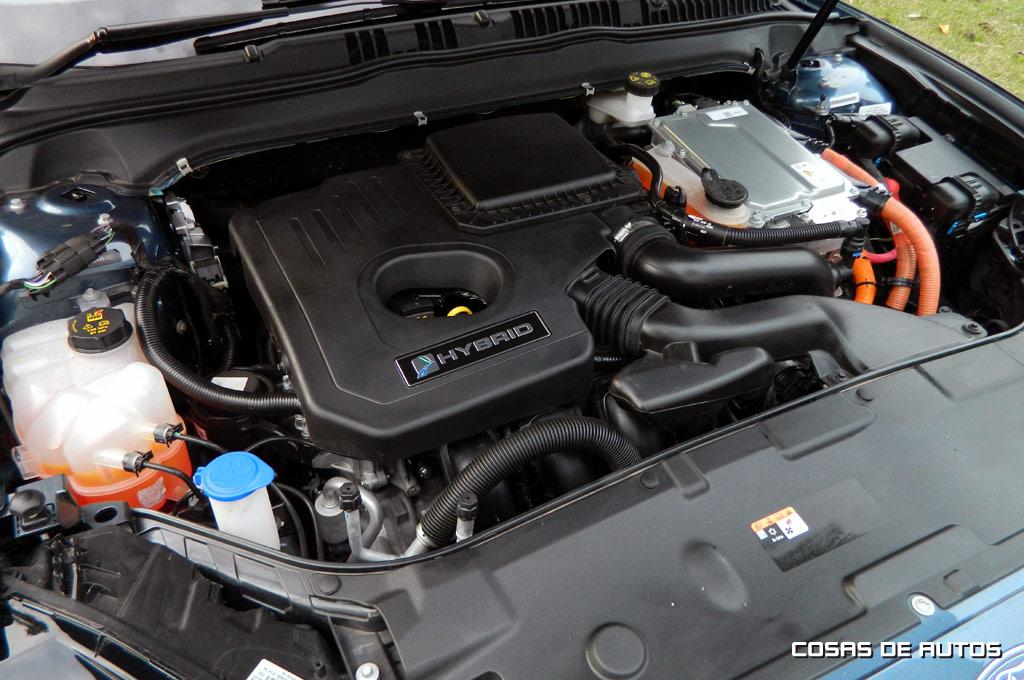Motor del Ford Mondeo hybrid