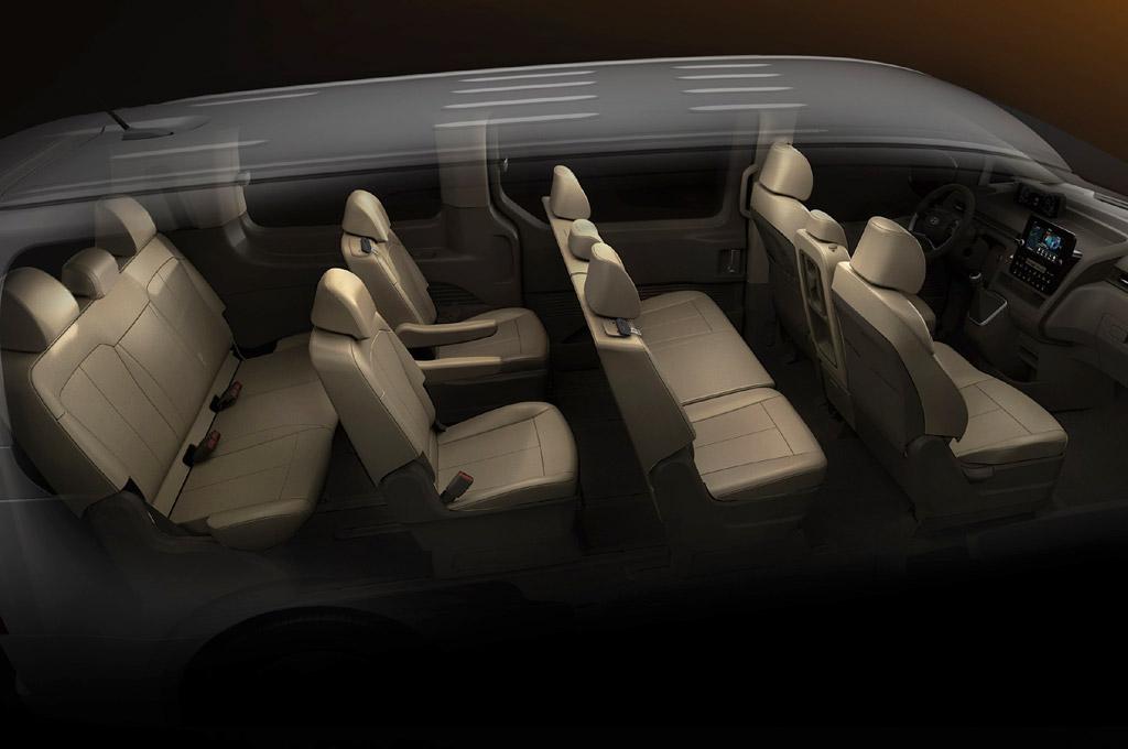 Hyundai Staria interior