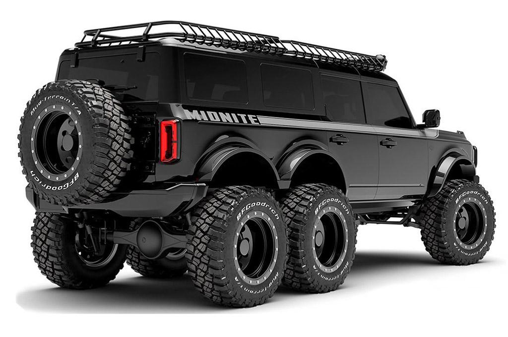Ford Bronco 6x6 Maxlider Bros