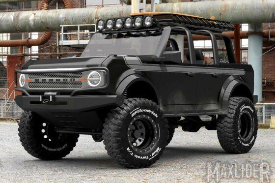 Ford Bronco - MaxliderBros