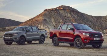 Ford Ranger Wolftrak y Stormtrak